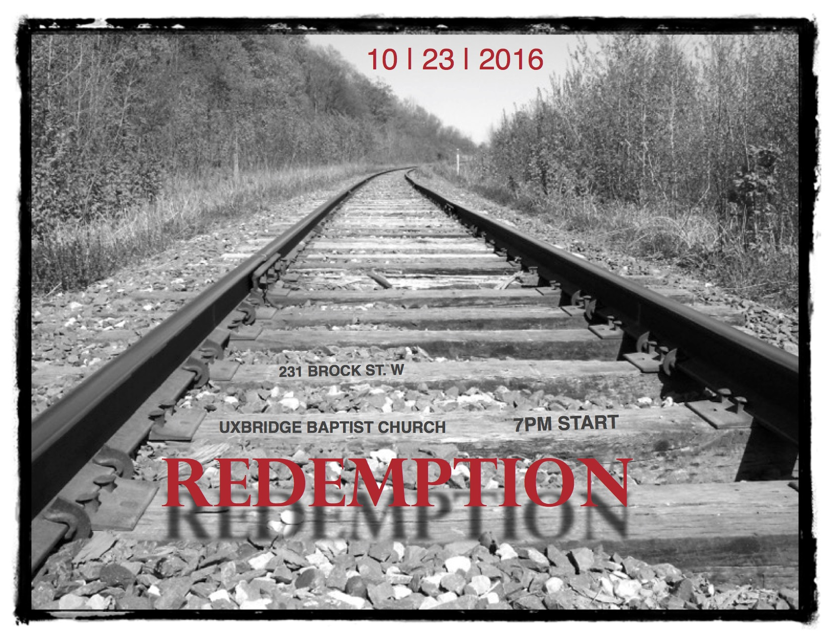 redemption october