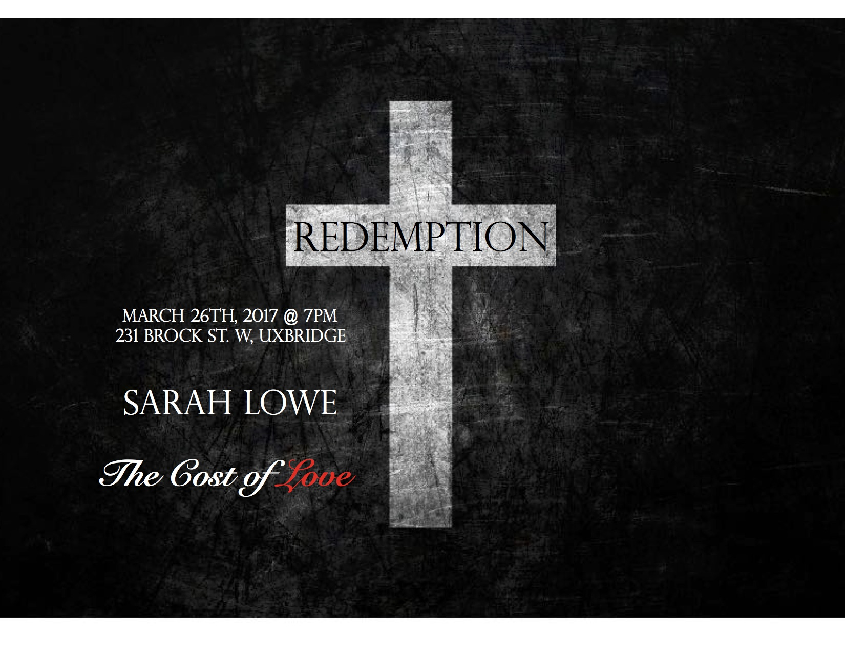 Redemption Poster March 2017