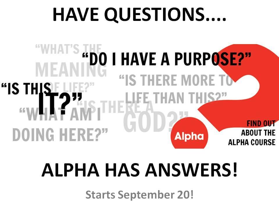 Alpha - UBC